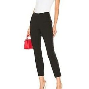 Vince. Side Stripe Trouser Pants In Black 8